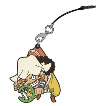 main photo of One Piece Tsumamare Pinched Strap: Usopp