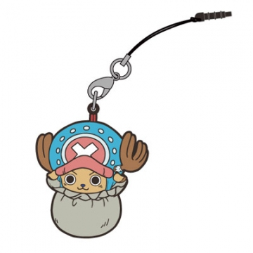 main photo of One Piece Tsumamare Pinched Strap: Tony Tony Chopper in Bag