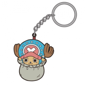 main photo of One Piece Tsumamare Pinched Keychain: Tony Tony Chopper in Bag