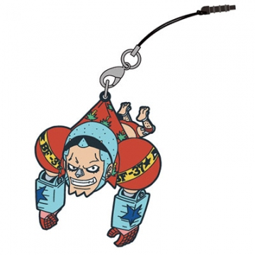 main photo of One Piece Tsumamare Pinched Strap: Franky