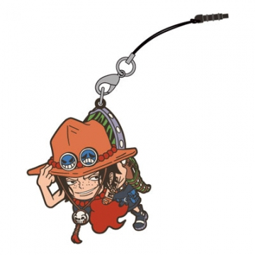 main photo of One Piece Tsumamare Pinched Strap: Ace