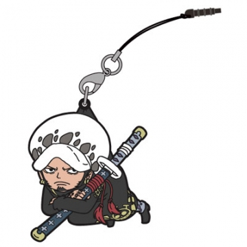 main photo of One Piece Tsumamare Pinched Strap: Trafalgar Law
