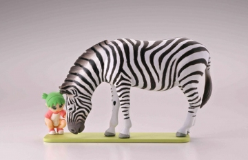 main photo of Capsule Q Fraulein Yotsuba & Monochrome Animals vol.2: Yotsuba & Zebra