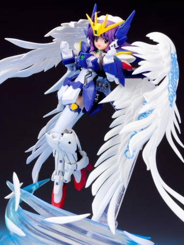 main photo of AGP MS Girl XXXG-00W0 Wing Gundam Zero Custom