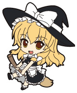 main photo of Nendoroid Plus Trading Rubber Strap Chap.1 Touhou Project: Kirisame Marisa