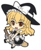photo of Nendoroid Plus Trading Rubber Strap Chap.1 Touhou Project: Kirisame Marisa