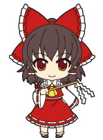 main photo of Nendoroid Plus Trading Rubber Strap Chap.1 Touhou Project: Hakurei Reimu