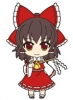 photo of Nendoroid Plus Trading Rubber Strap Chap.1 Touhou Project: Hakurei Reimu
