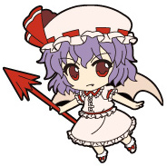 main photo of Nendoroid Plus Trading Rubber Strap Chap.1 Touhou Project: Remilia Scarlet