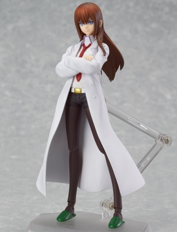 main photo of figma Makise Kurisu White Coat Ver.