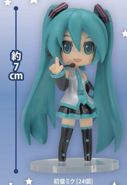 main photo of SEGA Hatsune Miku Live Stage Producer Figures: Hatsune Miku