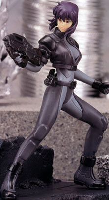 main photo of Ghost in the Shell Figure Collection Vol. 2: Motoko Kusanagi