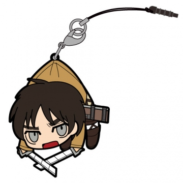 main photo of Attack on Titan Tsumamare Pinched Strap: Eren Yeager