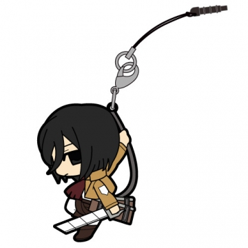 main photo of Attack on Titan Tsumamare Pinched Strap: Mikasa Ackerman