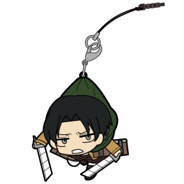 main photo of Attack on Titan Tsumamare Pinched Strap: Levi