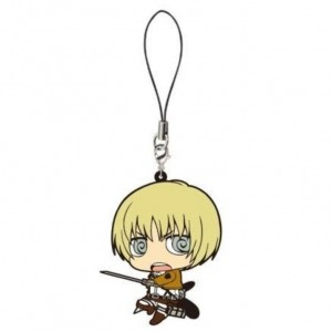 main photo of Shingeki no Kyojin Rubber Strap Chimi: Armin Arlelt