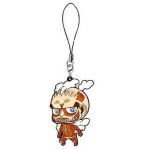 main photo of Shingeki no Kyojin Rubber Strap Chimi: Colossal Titan