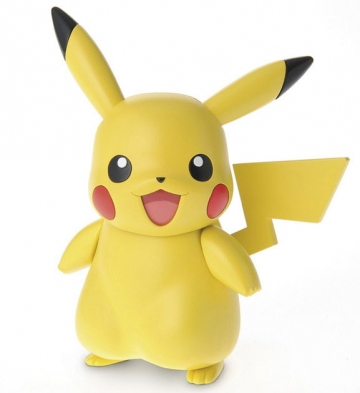 main photo of Pokemon Plastic Model Collection First Series Pikachu