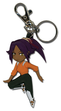 main photo of Bleach SD Keychain: Shihouin Yoruichi