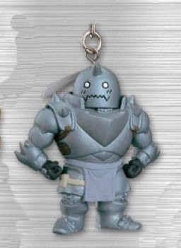 main photo of Figure Keychain ~Mustang Taisa Toujou Hen~: Alphonse Elric