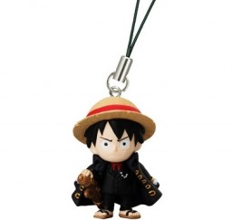main photo of One Piece Character Strap #2: Luffy