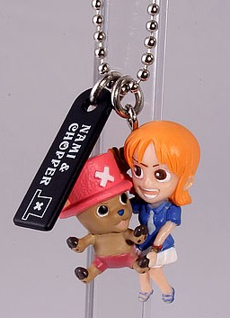 main photo of One Piece Dream Mascot: Nami & Chopper