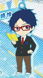 main photo of Pic-Lil! Free! Trading Strap: Ryuugazaki Rei Uniform ver.