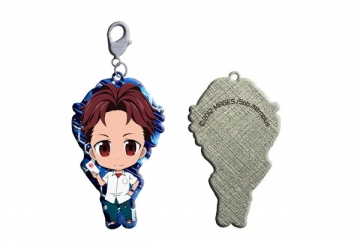 main photo of ROBOTICS;NOTES Trading Metal Charm Strap: Yashio Kaito
