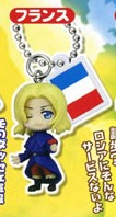 main photo of Hetalia Axis Powers Key Chain Mascot Part 2: France
