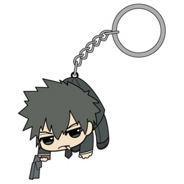 main photo of Psycho-Pass Tsumamare Pinched Keychain: Kogami Shinya