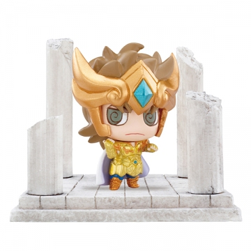 main photo of Petit Chara Land Saint Seiya Twelve Temples Vol.2: Leo Aiolia