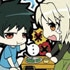 Toy'sworks Collection Niiten-gomu! Hataraku Maou-sama!: Maou & Ashiya