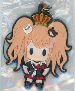 main photo of D4 Dangan Ronpa Rubber Strap Collection Vol.1: Enoshima Junko Secret Ver.