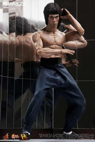main photo of Movie Masterpiece Bruce Lee Enter The Dragon Ver.