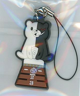 main photo of D4 Dangan Ronpa Rubber Strap Collection Vol.2: Monokuma