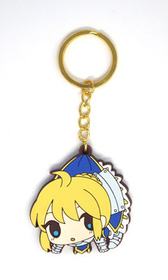main photo of Fate/Zero Tsumamare Pinched Keychain: Saber