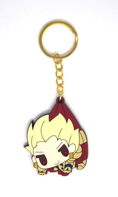 main photo of Fate/Zero Tsumamare Pinched Keychain: Gilgamesh