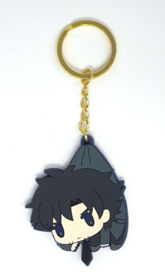main photo of Fate/Zero Tsumamare Pinched Keychain: Emiya Kiritsugu