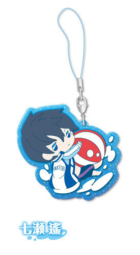 main photo of Free! Clear Rubber Strap ~in vacation~: Nanase Haruka