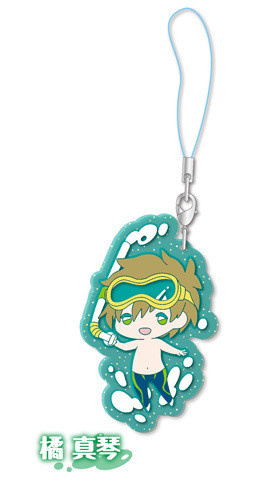 main photo of Free! Clear Rubber Strap ~in vacation~: Tachibana Makoto