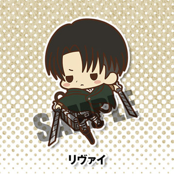 main photo of -es series nino- Attack on Titan Rubber Strap Collection: Levi