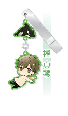 main photo of Free! Yura Yura Clip Collection: Makoto Tachibana