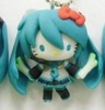 photo of Mascot Key Chain Hello Kitty & Vocaloid: Hello Kitty Hatsune Miku Secret Ver.