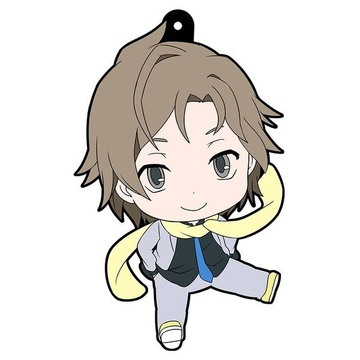 main photo of Devil Survivor 2 the Animation Petanko Trading Rubber Strap: Daichi