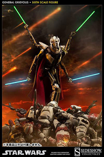 main photo of Sixth Scale Figure General Grievous