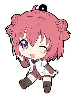 main photo of YuruYuri 2nd Season - Petanko Trading Rubber Strap: Akari Akaza