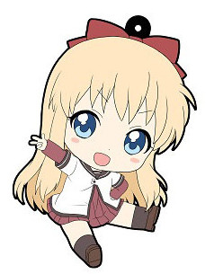 main photo of YuruYuri 2nd Season - Petanko Trading Rubber Strap: Kyouko Toshinou
