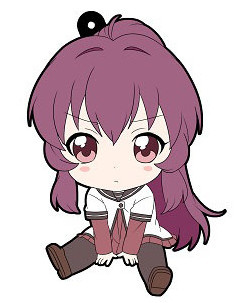 main photo of YuruYuri 2nd Season - Petanko Trading Rubber Strap: Ayano Sugiura