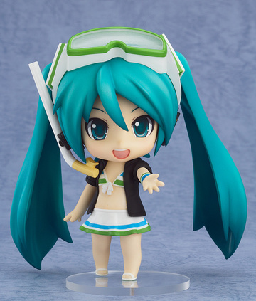 main photo of HappyKuji Hatsune Miku 2013 Summer Ver.: Nendoroid Hatsune Miku Swimsuit Ver.