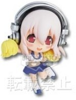 main photo of Ichiban Kuji Super Sonico ~More Power!!~: Sonico Chibi Kyun-Chara Cheerleader ver.